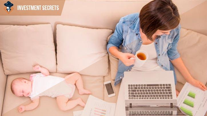 Как зарабатывать деньги в декрете на дому